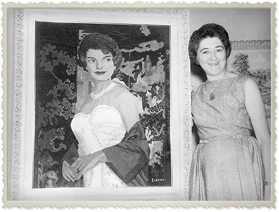 Jacqueline Kennedy Onassis par/by Élizabeth LeFort