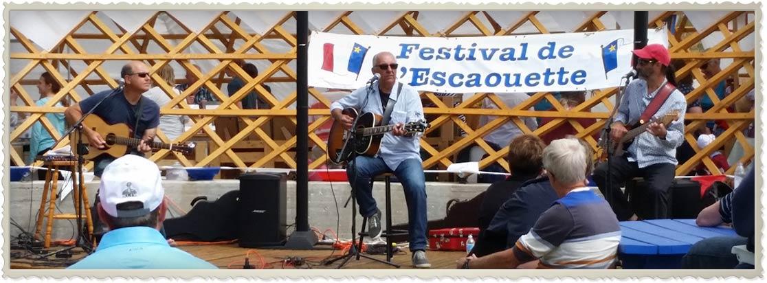 Spectacle Festival de l'Escaouette Concert